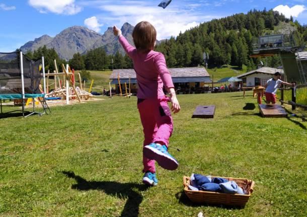 Estate magica a Fiabosco, in Val d'Aosta