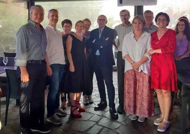 Festa all'Oncologia di Legnano per il pensionamento di Luoni e Tocci