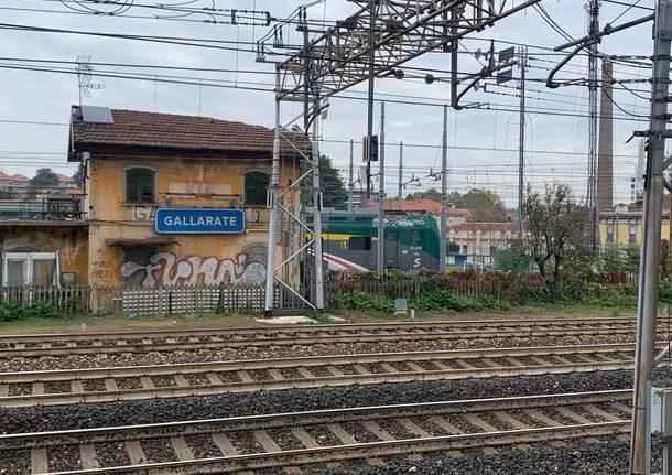 Gallarate treno merci treni ferrovia