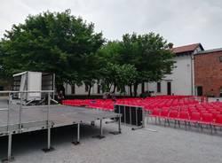 Palco eventi Castello Legnano