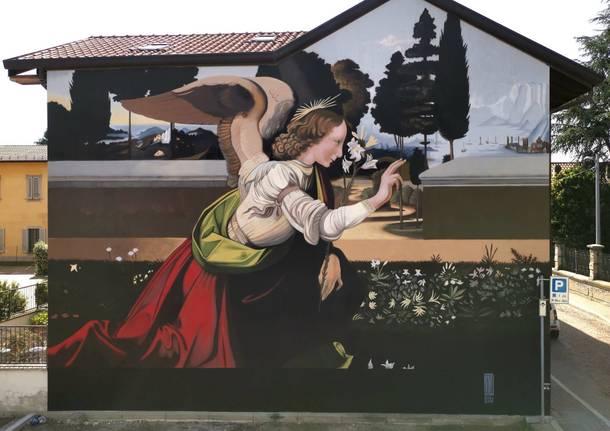 Il murales di Andrea Ravo Mattoni a Lonate Pozzolo