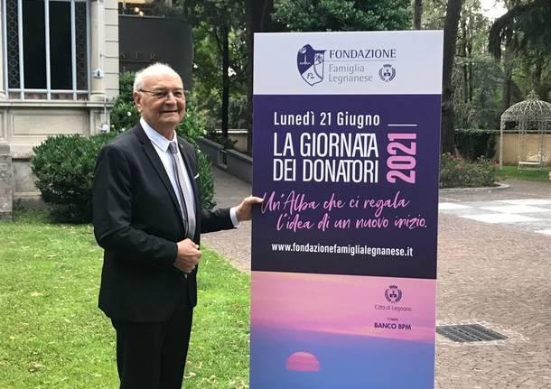 Giornata dei donatori con la Fondazione Famiglia Legnanese