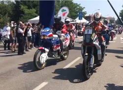 I motori della Dakar rombano per le strade di Legnano