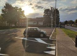 Inaugurato il nuovo parcheggio di Lisanza a Sesto Calende