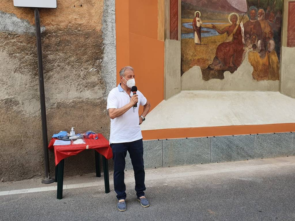 Inaugurazione edicola votiva di San Giovanni Battista a Cerro Maggiore