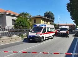 incidente ambulanza fagnano olona