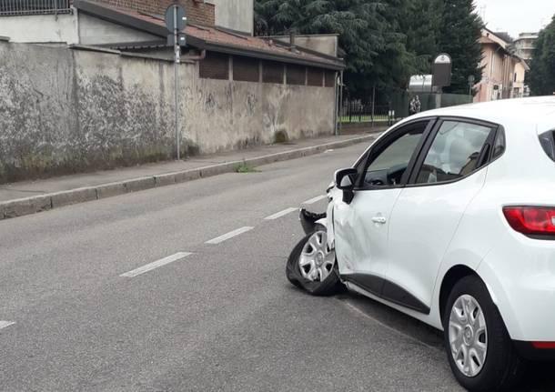 Incidente via Colli Sant'Erasmo Legnano