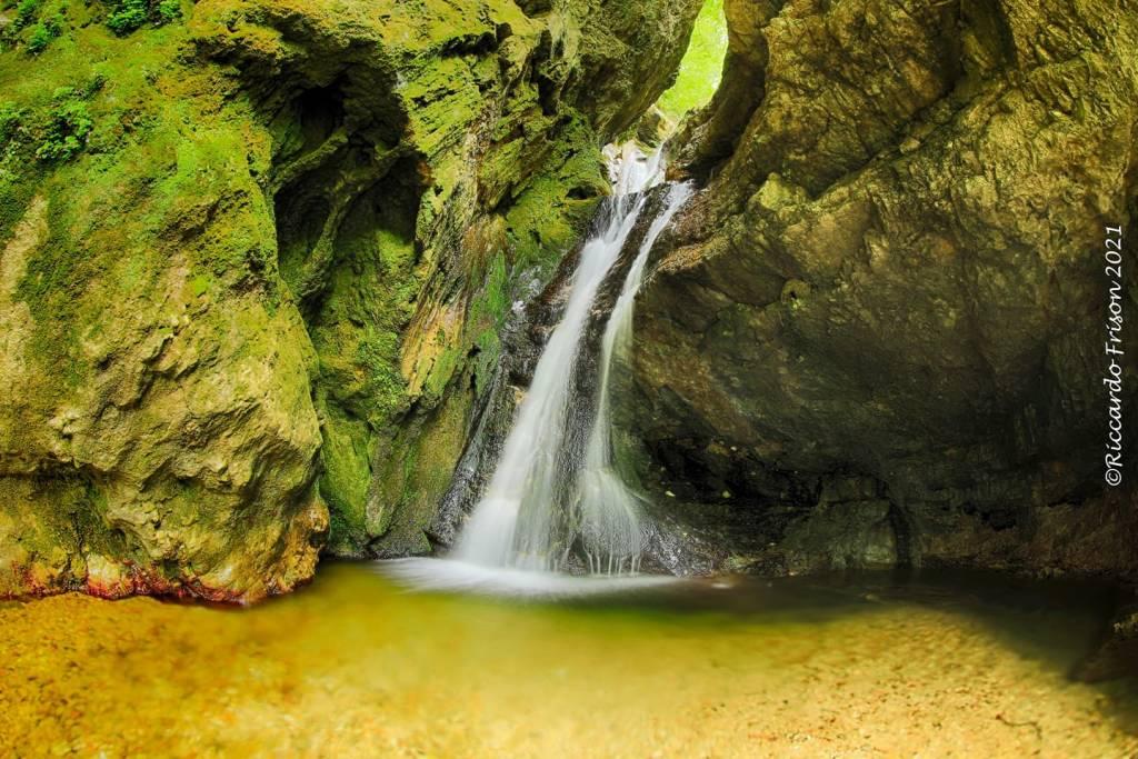 La cascata del Ronco a Rancio Valcuvia