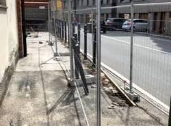 lavori palazzina protezione civile angera