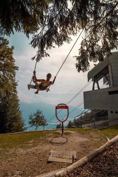 Le altalene panoramiche del Canton Ticino