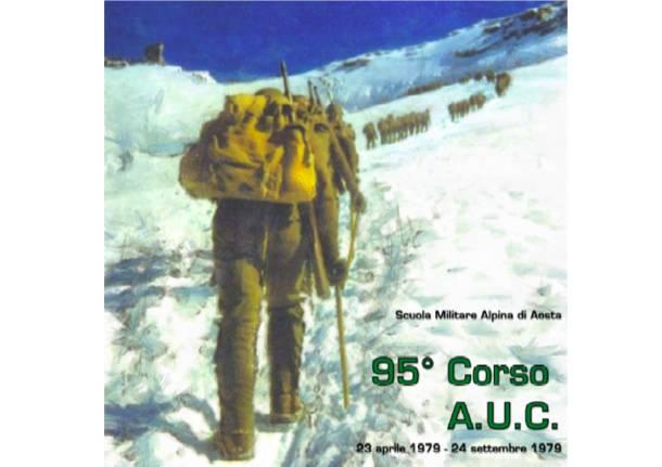 libro fotografico del 95° corso Allievi Ufficiali della Scuola Militare Alpina di Aosta