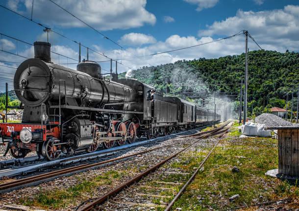 Locomotiva a vapore Fabio Calanca
