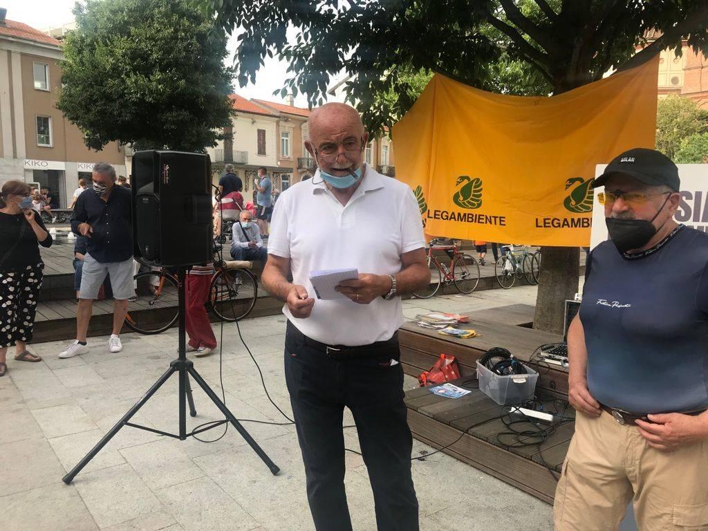 Manifestazione No Accam a Legnano