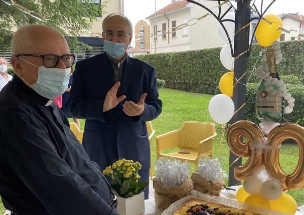 monsignor livetti 90 anni la provvidenza