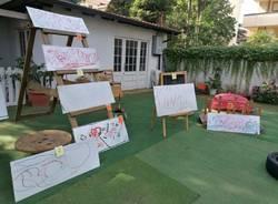 mostra arte villa littlepumpkids