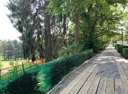 Nel cantiere di villa Mylius a Varese
