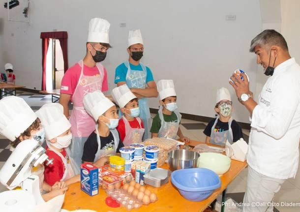 Alessandro Garzillo, uno chef all'oratorio di Schianno