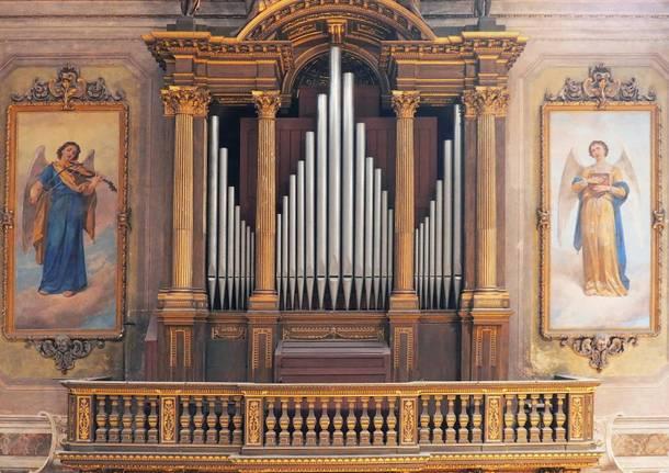Organi del santuario di Rho