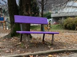 panchina viola