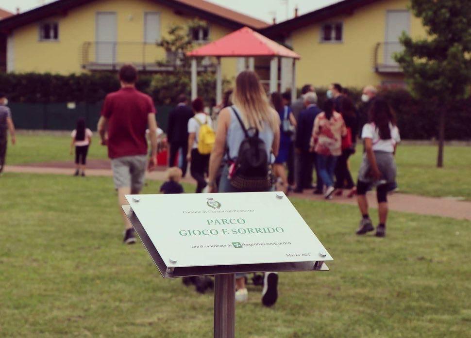 Parco inclusivo Cavaria con Premezzo