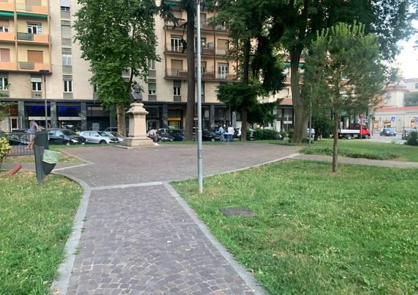Piazza Risorgimento Gallarate