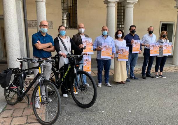 presentazione bike to shop busto arsizio