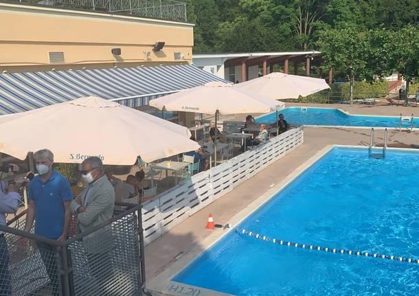 Riaprono le piscine alla Schiranna