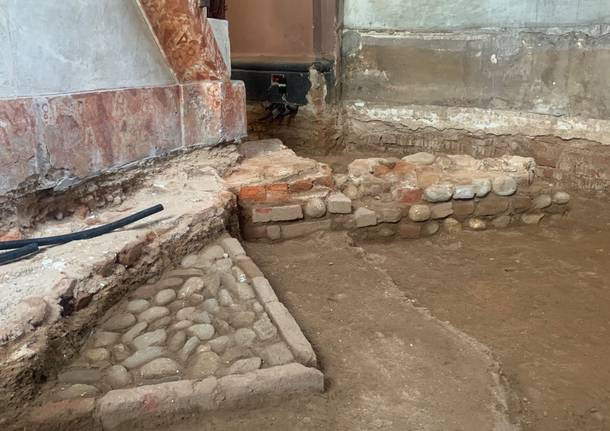 Ricompare la vecchia chiesa di Cedrate