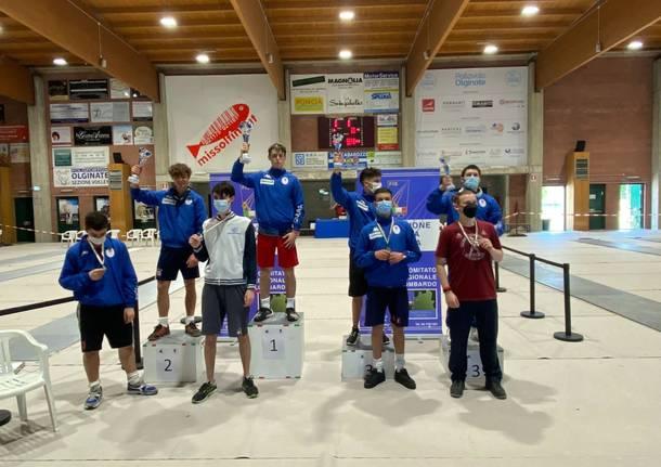 Scherma Varese campionati italiani