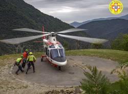 soccorso alpino elicottero ricerche