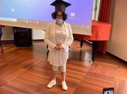 Sonia si diploma al Liceo Legnani di Saronno