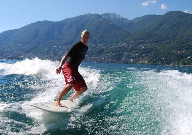 Le spiagge ticinesi del Lago Maggiore