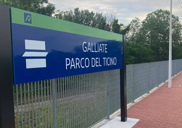 stazione Galliate Parco Ticino