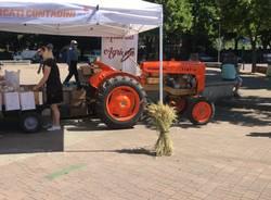 Successo di vendite al Mercato contadino a Legnano