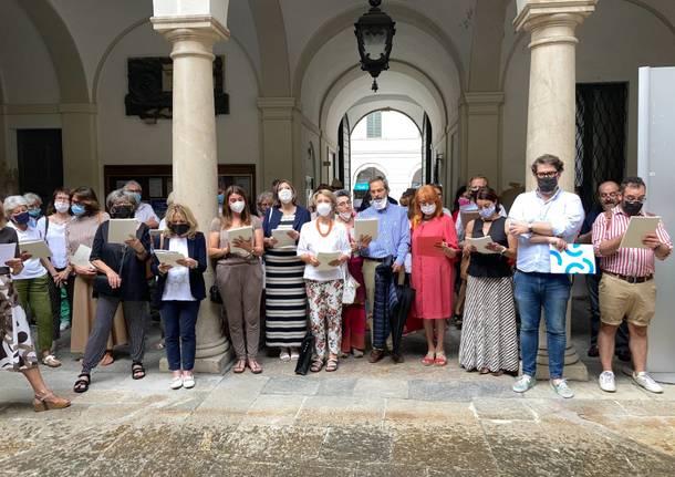 Tra Sacro e Sacro Monte Conferenza stampa