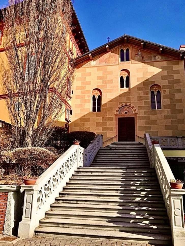 Tradate, la chiesetta all'istituto Barbara Melzi - foto di Stefania Cagnin