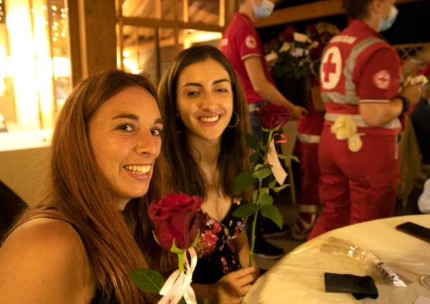 Volti e suggestioni dalla Cena d'estate della Croce Rossa di Varese