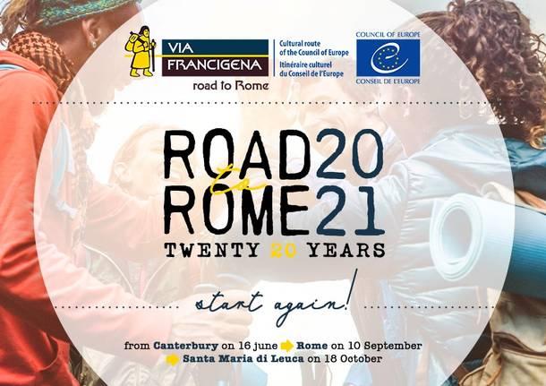 via Francigena Road to Rome 2021