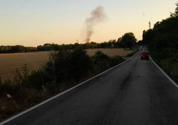 Vigili del Fuoco - incendio Nerviano