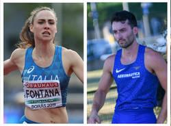 vittoria fontana lorenzo perini atletica leggera