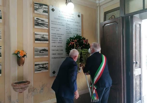 A Sesto Calende il ricordo per i 50 anni dalla scomparsa di tre piloti nei cieli dell'Iran