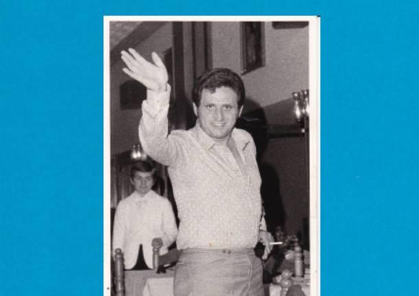 A SPARIZIONE IL 13 DICEMBRE 1971 DI LUIGI TAMBORINI DI SESTO CALENDE PILOTA SIAI MARCHETTI SF-260