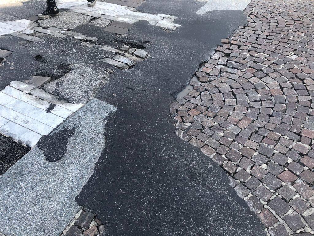 Attraversamento in largo Seprio: la vergogna del centro di Legnano