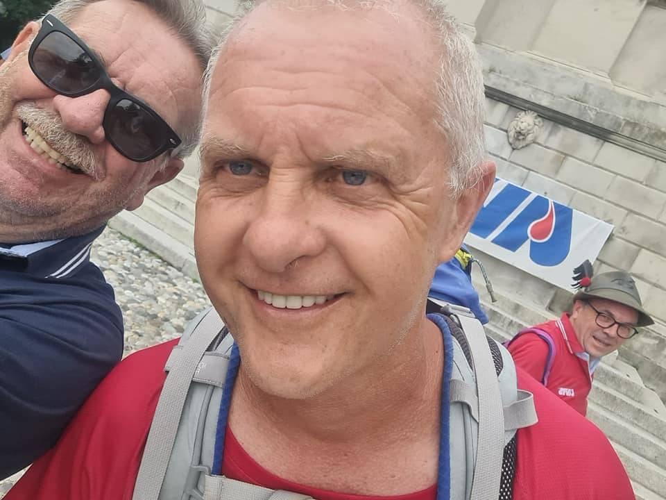 """Cammino da Trieste ad Aosta con l'Avis"""" di Maurizio Grandi"""