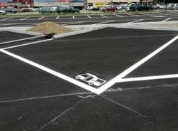 Il nuovo parcheggio di Cocquio Trevisago
