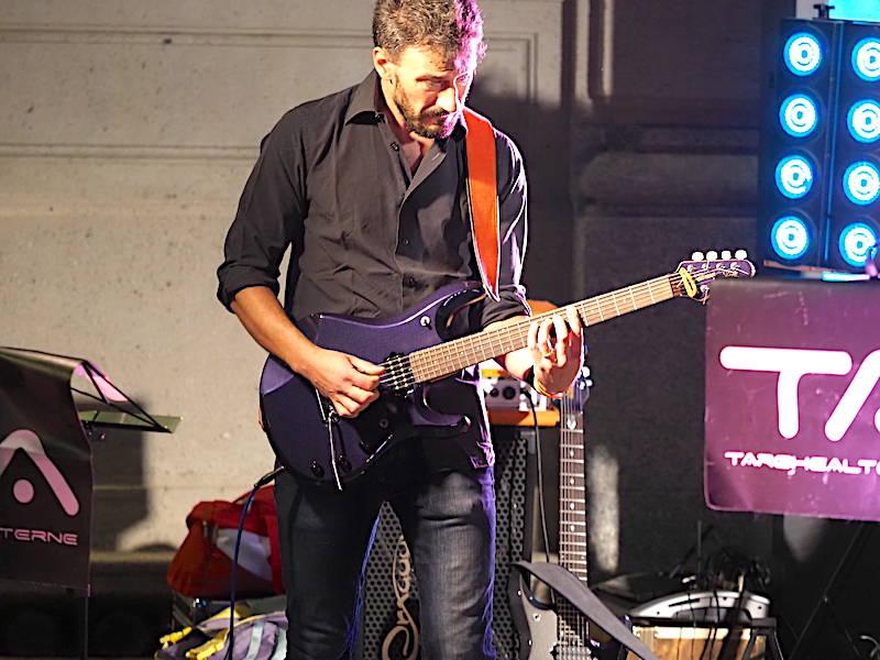 Il concerto in piazza a Gallarate