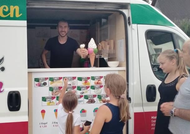 Paolo, il gelataio di Laveno che ha conquistato l\'Austria