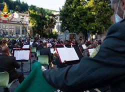 Il concerto dei vigili del fuoco a Viggiù