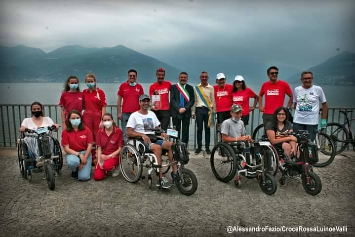 Il Triride Tour ha fatto tappa tra i laghi della provincia di Varese