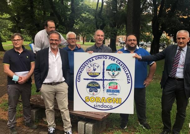 Centrodestra a Castellanza unito per sostenere il candidato sindaco Angelo Soragni